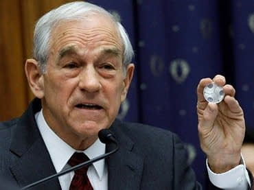 Ron Paul Ben Bernanke Silver End The Fed