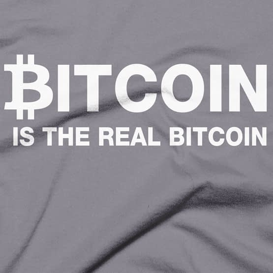 Bitcoin Is The Real Bitcoin T-Shirt