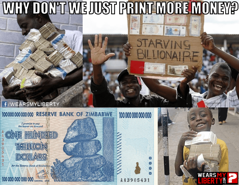 Why Don't We Just Print More Money?