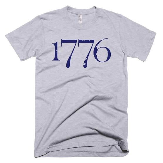 """1776"" Independence T-Shirt -- Heather"