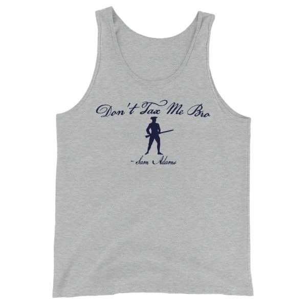 Dont_Tax_Me_Bro_Sam_Adams_Tanktop -- Heather