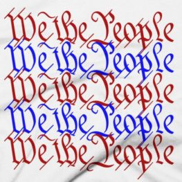 We The People - Red, White & Blue T-Shirt