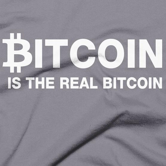 Bitcoin Is The Real Bitcoin T-Shirt