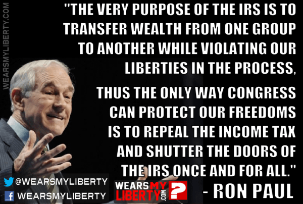 Ron Paul Fix The IRS By Ending It