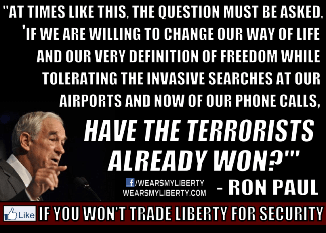 Ron-Paul-Statement-PRISM-NSA-Have-The-Terrorists-Already-Won