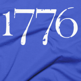 1776 Independence Liberty T-Shirt - Blue