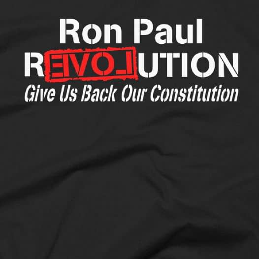 Ron Paul Revolution R3VOLution Constitution