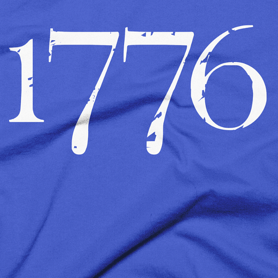 1776 Independence Liberty T-Shirt - Blue