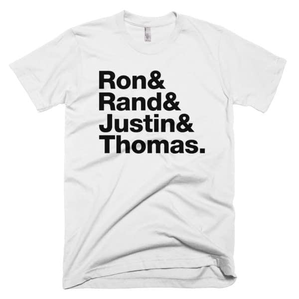 Ron Paul Rand Paul Justin Amash Thomas Massie Shirt