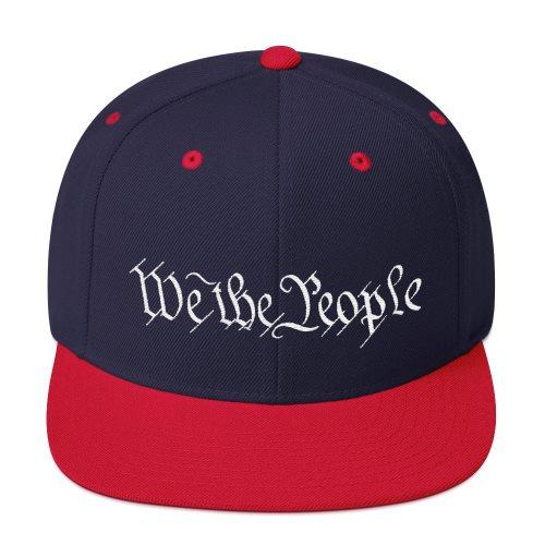 We The People Snackback Hat - Navy/Red